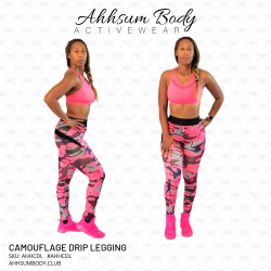 Camouflage Drip Legging - AHHCDL