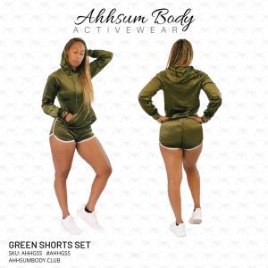 Green Shorts Set - AHHGSS