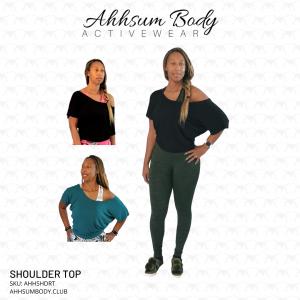 Ahhsum Body Activewear - Item #AHHSHDRT