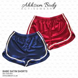 Babe Satin Shorts - AHH-BSS