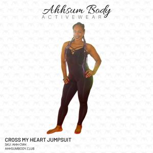 Cross My Heart Jumpsuit