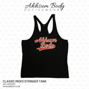 Classic Mens Stringer Tank - Ahhsum Body